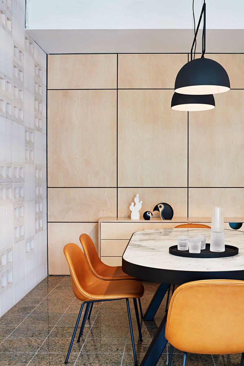 Meeting room at Make Ventures HQ designed by Tecture | Indesignlive