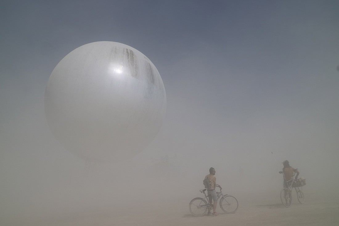 The Orb, designed by BIG. Photo by Alberto Quintans.