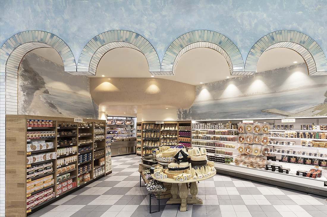 An artful twist on the grocery experience