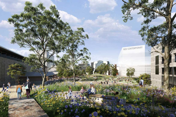 NGV Contemporary design team will be one of these four