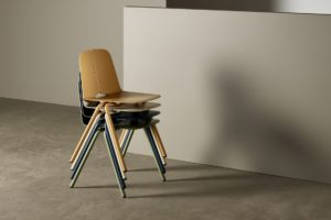 Seam Stacking Chair 1