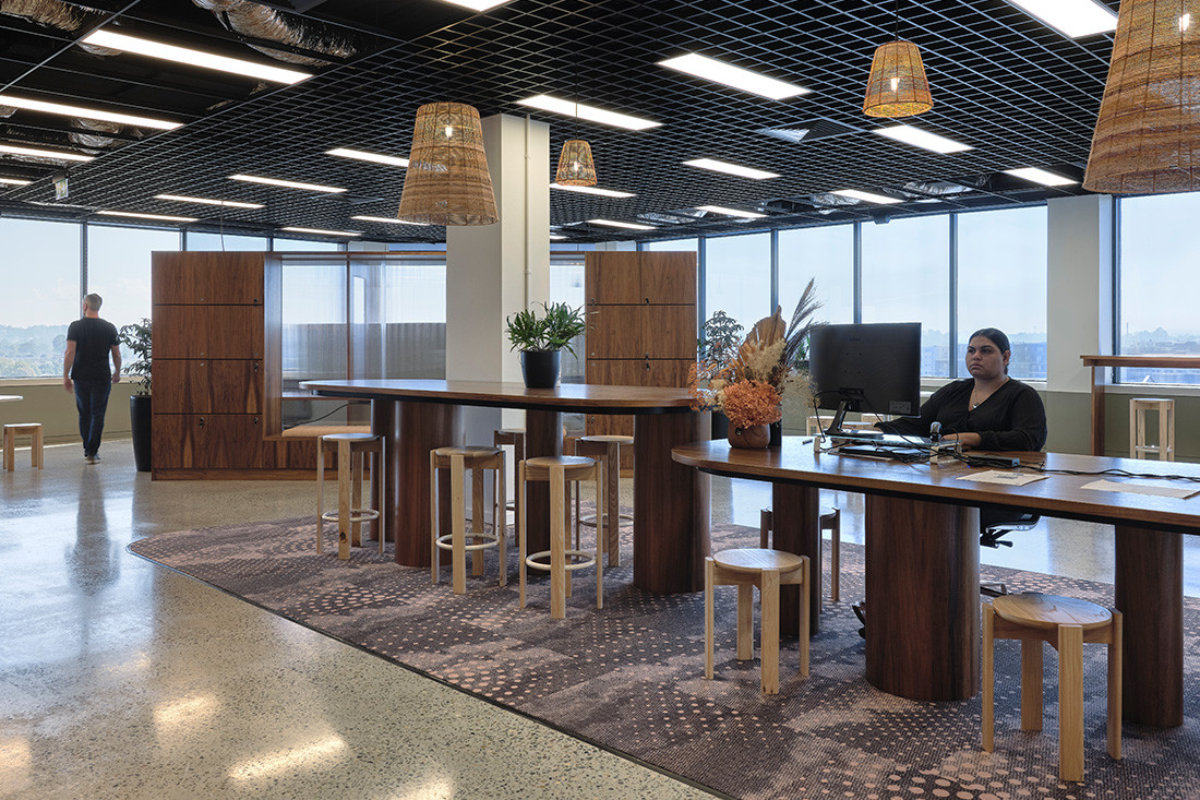 The natural carpeting choice for Indigenous employment hub