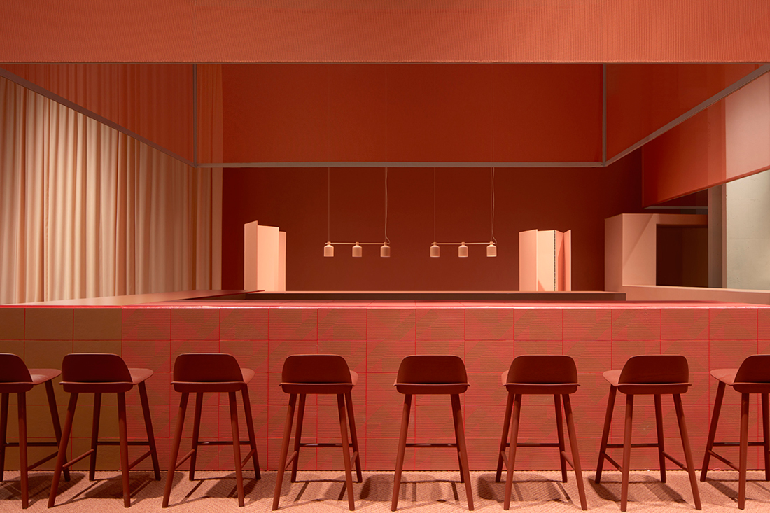 The design bar at this year s stockholm furniture fair was