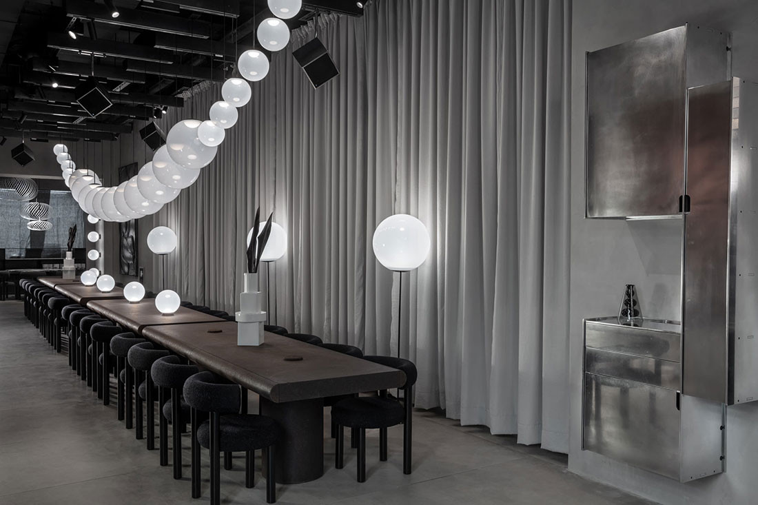 Tom Dixon's unconventional showroom launches in Milan