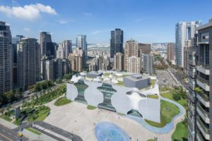 Toyo Ito's Taichung National Theatre