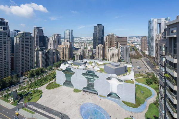 Toyo Ito's Taichung National Theatre
