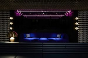 Tribe Hotel Perth bar, interiors designed by Travis Walton.