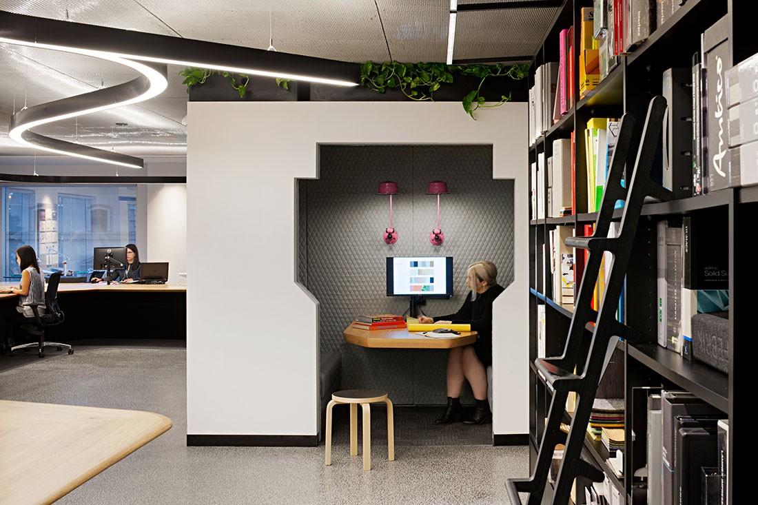 Unispace's Melbourne Office. Photo by Shannon McGrath.