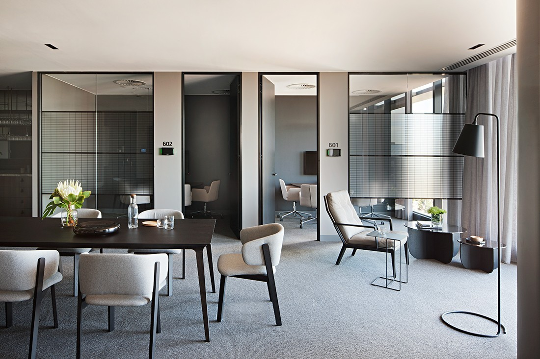 UBT by Unispace brings inspiration from hospitality and residential spaces into the office. Photo by Shannon McGrath.