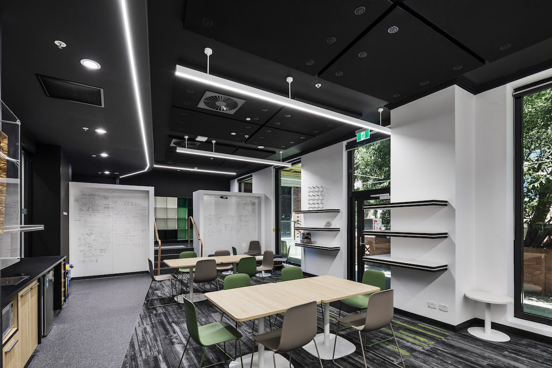 Interior of University of Adelaide Johnson Laboratories by Matthews Architects