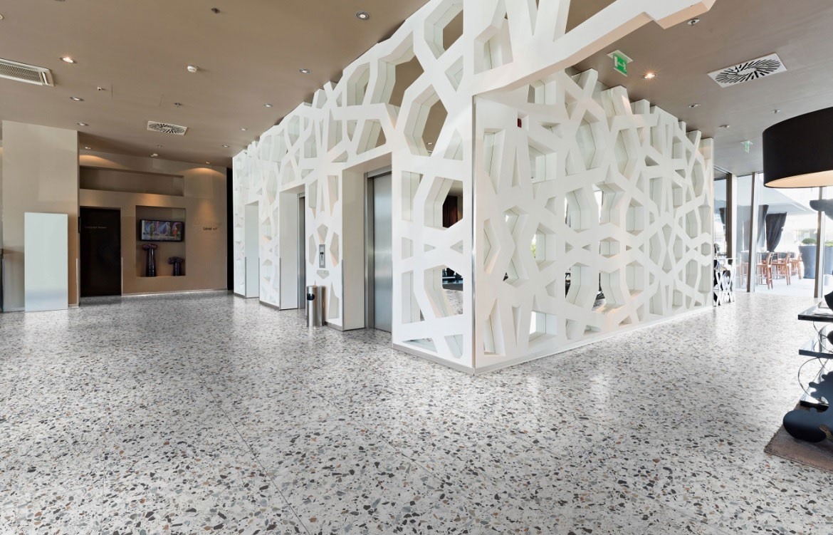 Terrazzo Rocks On Finishes Indesignlive The Collection