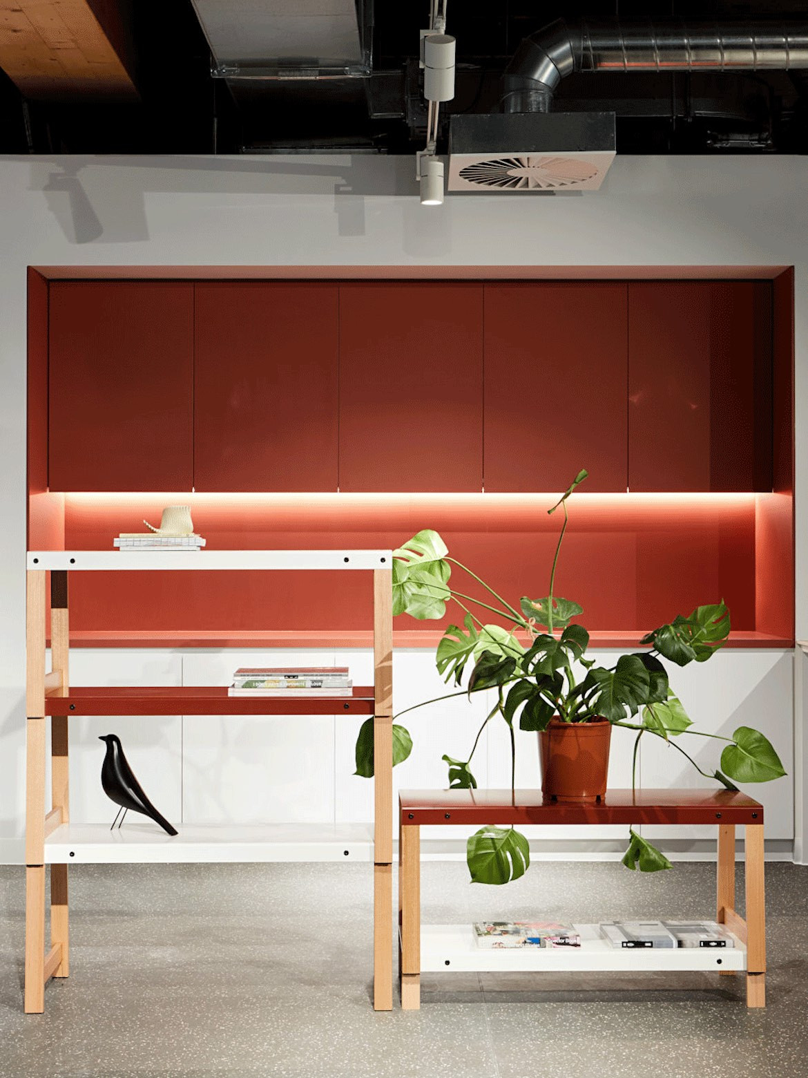 Rearrangeable furnishings in the Architectus' Melbourne Entrepreneurial Centre office