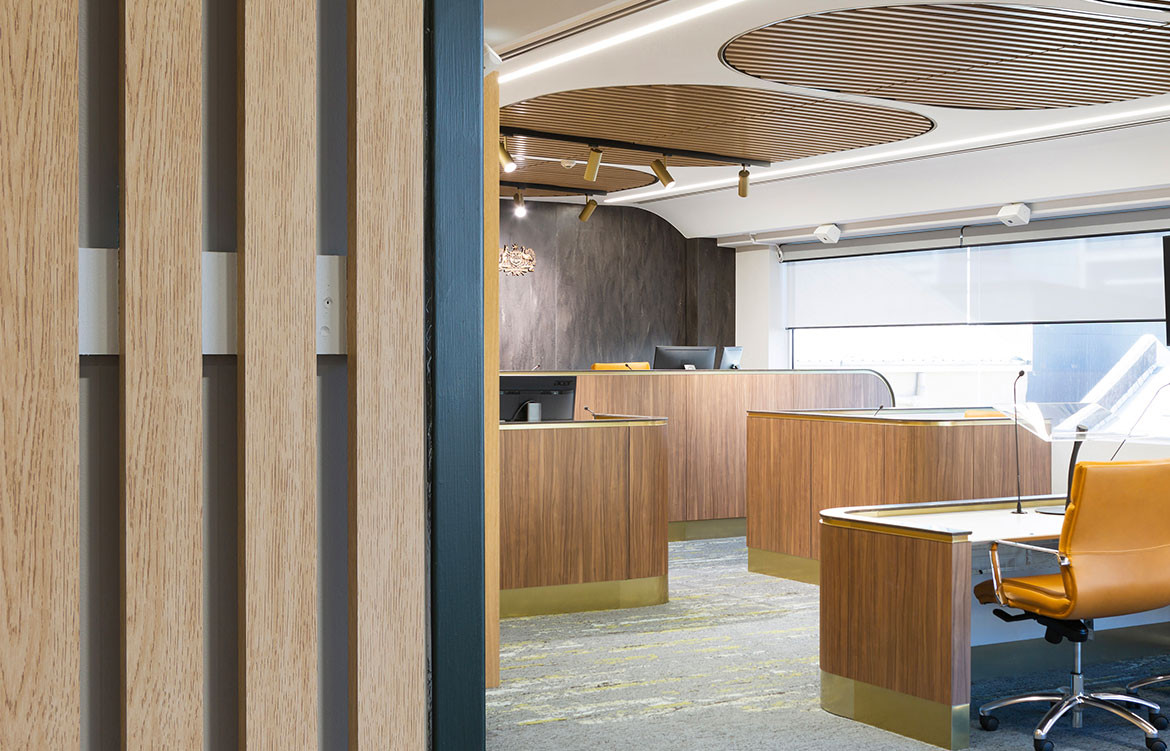 Verosol blinds meet the brief for the Federal Courts of Australia