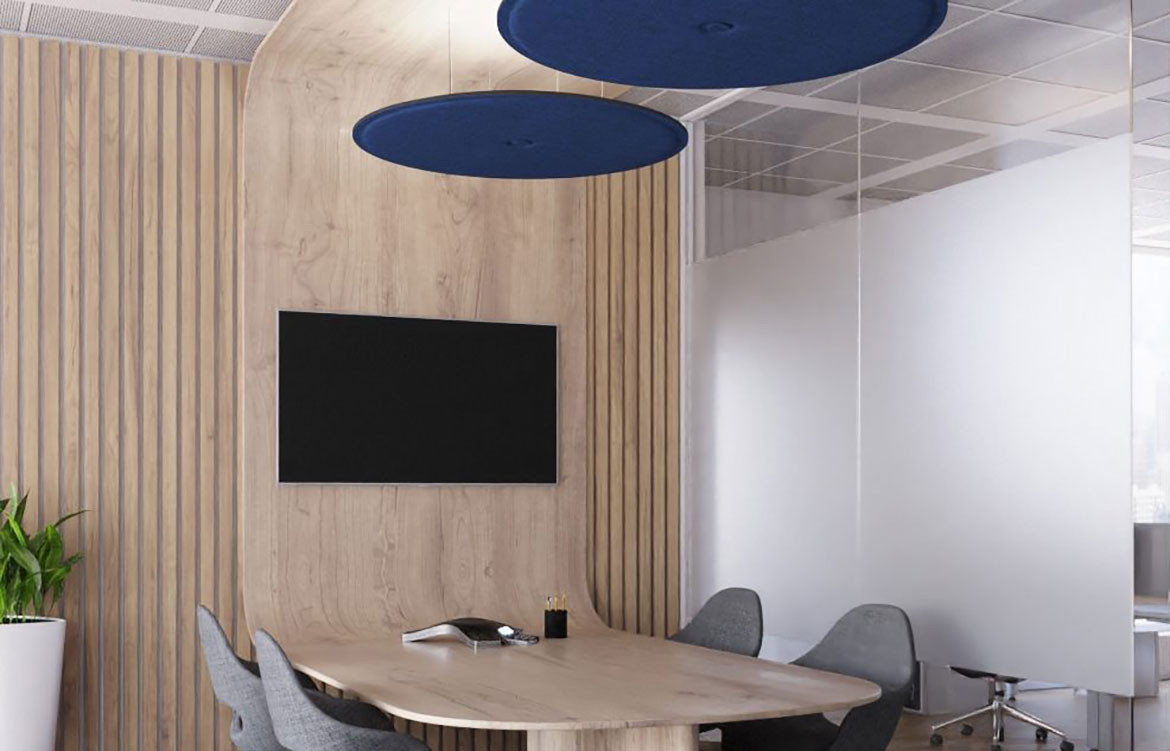 Luxxbox Waffle Pendant Commercial Meeting Room