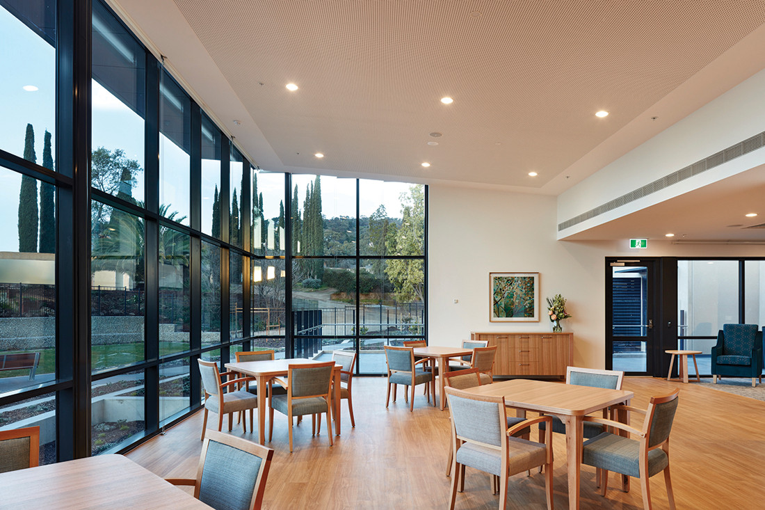 Extraordinary aged care environments with Workspace