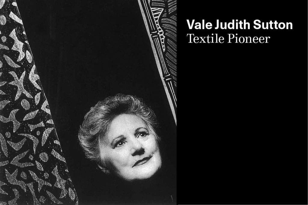 Vale Judith Sutton, Woven Image