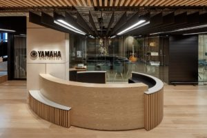Yamaha HQ reception