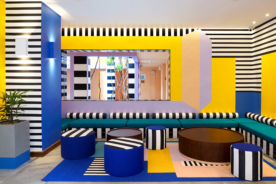 Camille Walala and the amazing technicolour dream hotel