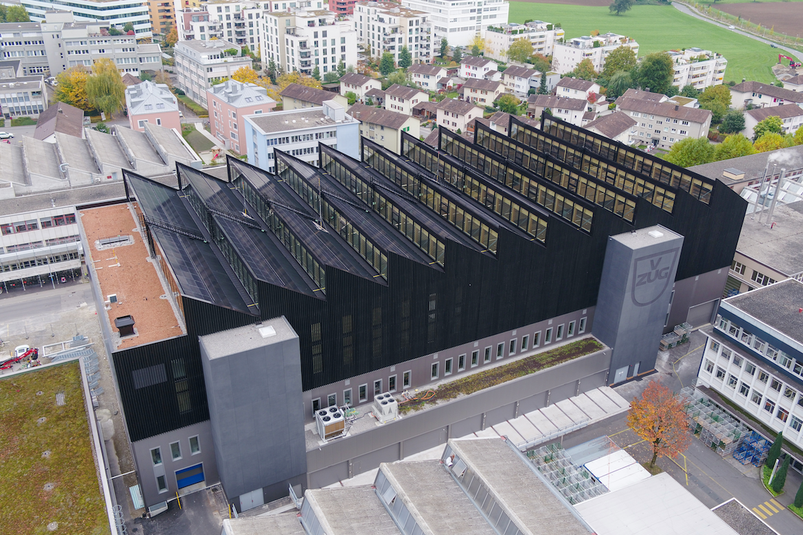 V-ZUG building from above