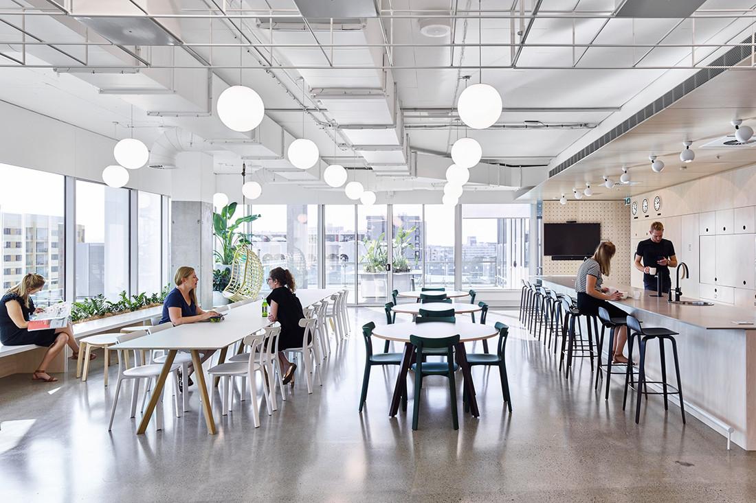 Cardno's City-Like Office Celebrates Variety And Community