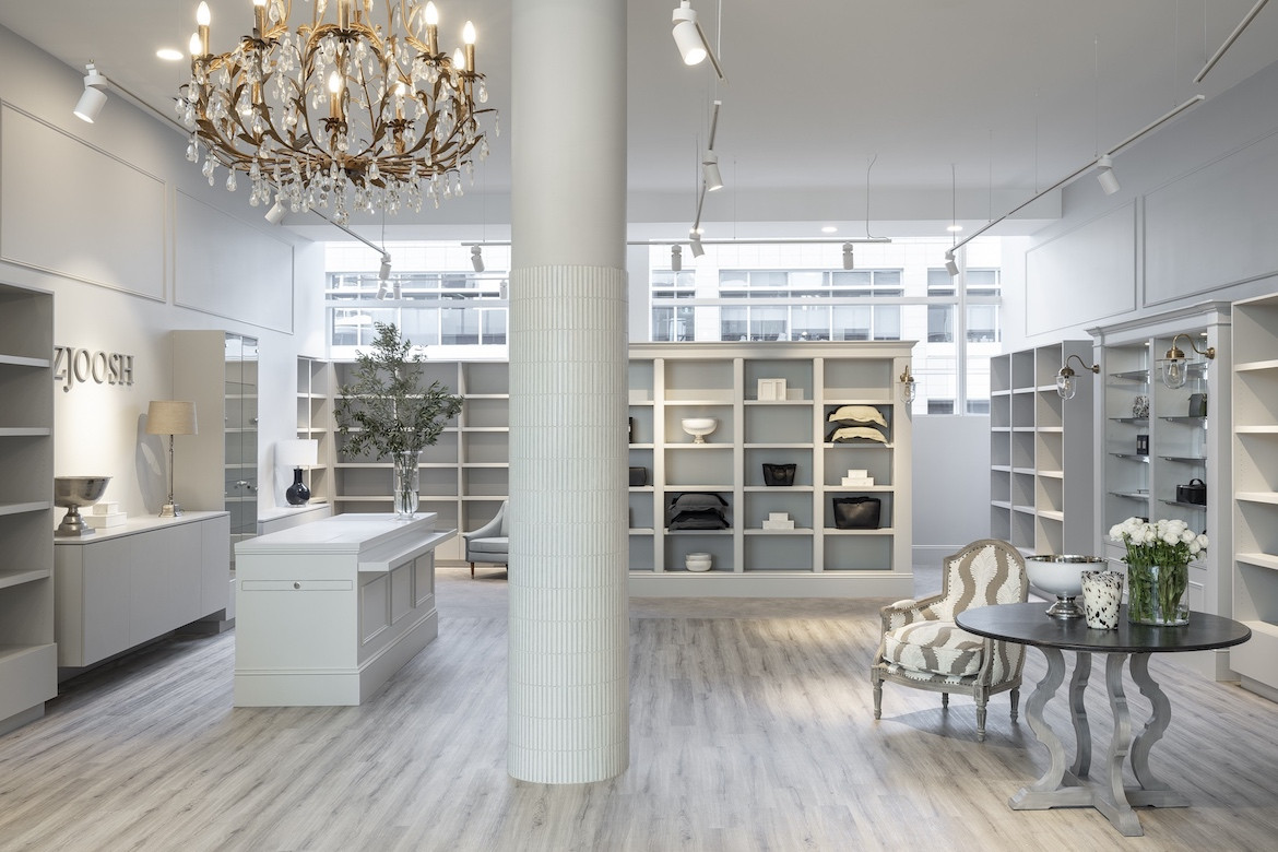 Andrew Waller conceives an elegant space for the Zjoosh flagship
