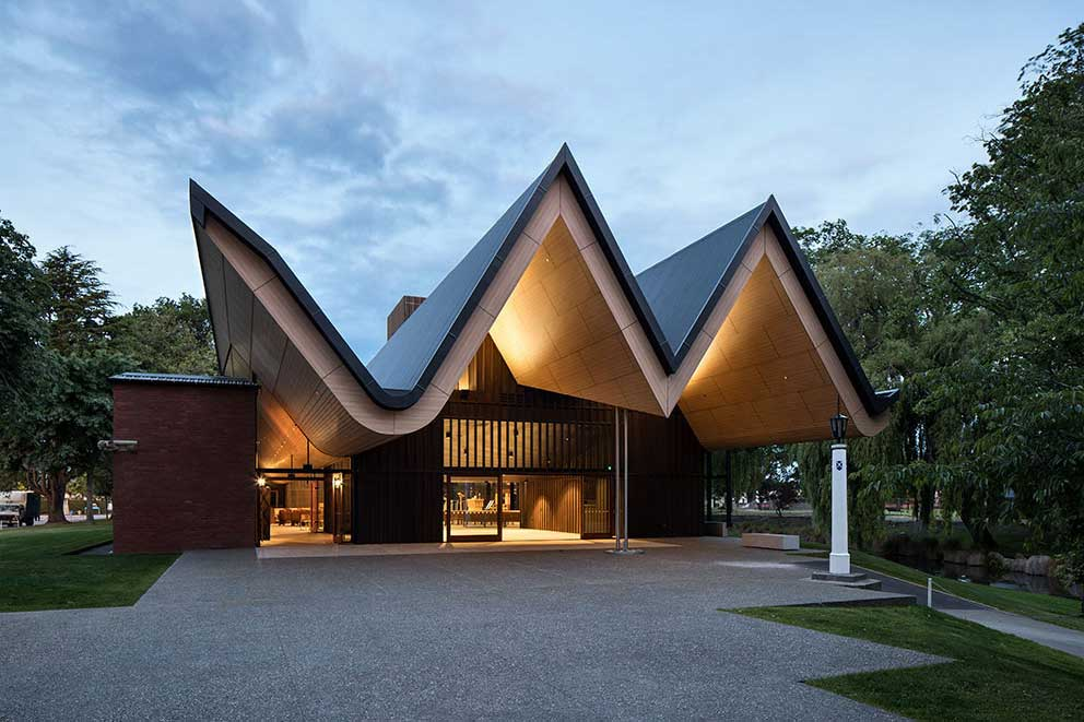 St andrews college centennial chapel christchurch by for Architectus chch