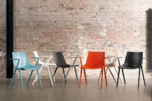 The Aula chairs, from Wilkhahn