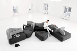zaha hadid 39 s fluid alimunium cultural centre architecture design. Black Bedroom Furniture Sets. Home Design Ideas