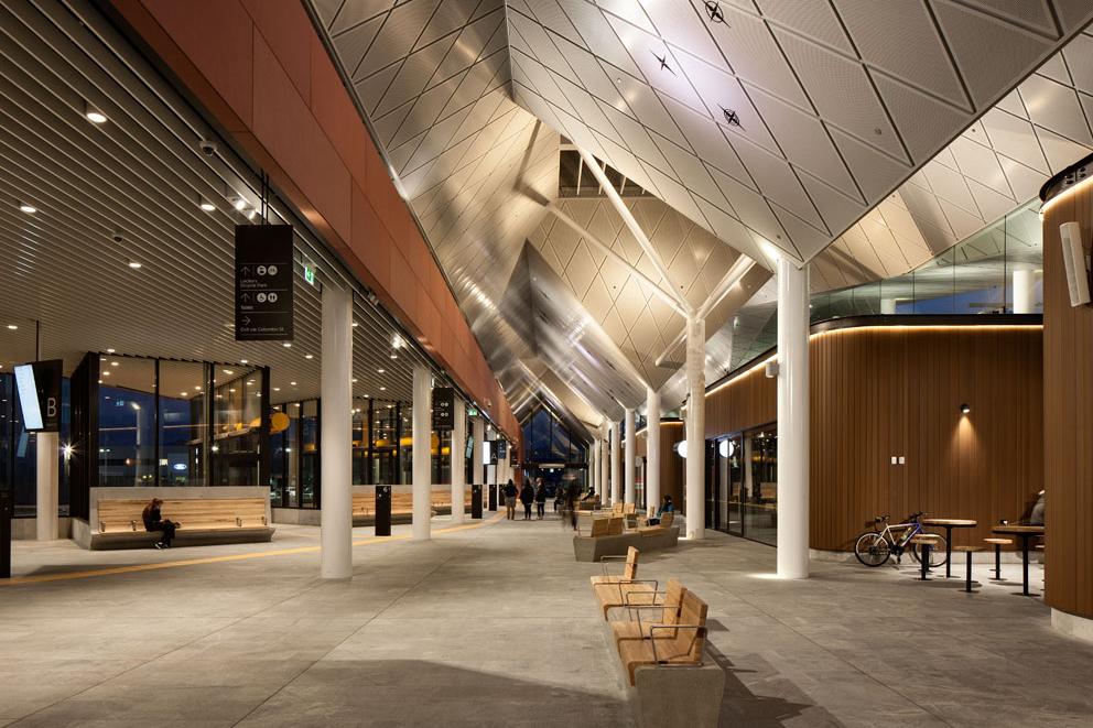 Christchurch bus interchange by architectus architecture for Architectus chch