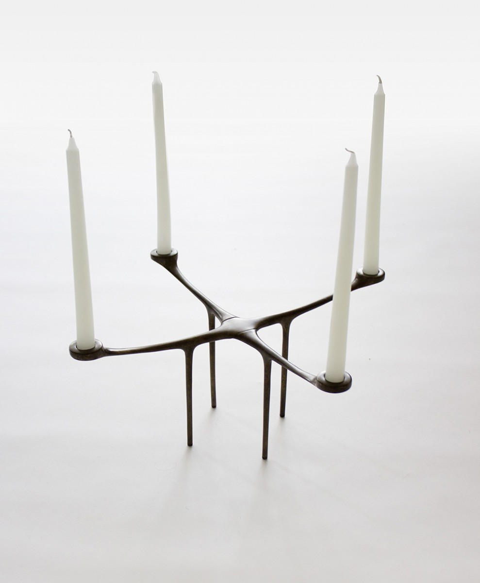 Advent candelabra designed by Wilson for Danish brand MENU.
