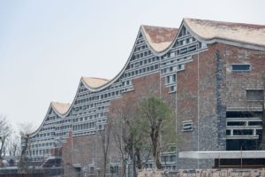 Fuyang Cultural Complex by Amateur Architecture Studio, China