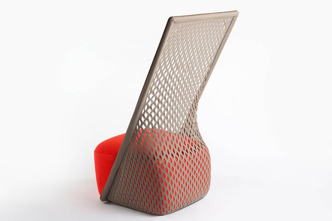 Cradle chair, designed by Hubert for Moroso.