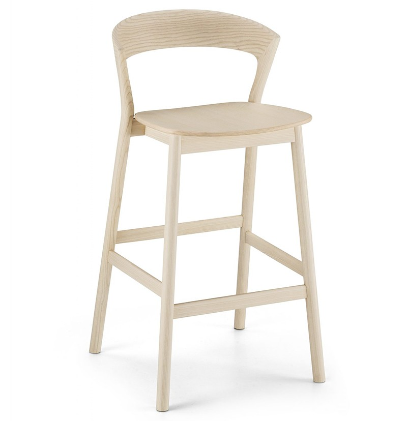 Edith stool in natural
