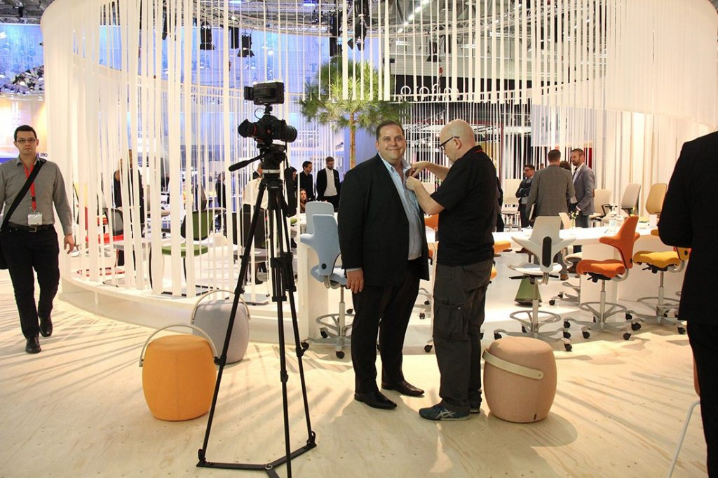 Flokk at Orgatec