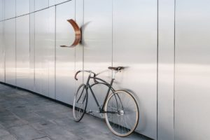 Olas Design's GH Bike Rack. Photo by Andy Mullens.