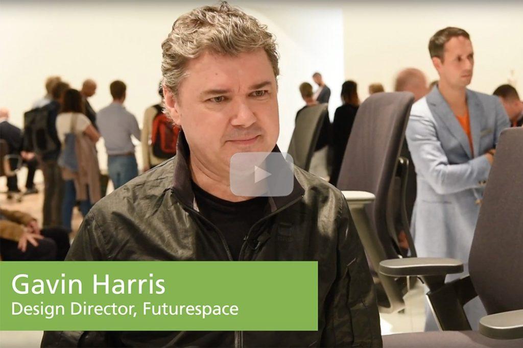 Gavin Harris, futurespace at Wilkhahn x Orgatec.