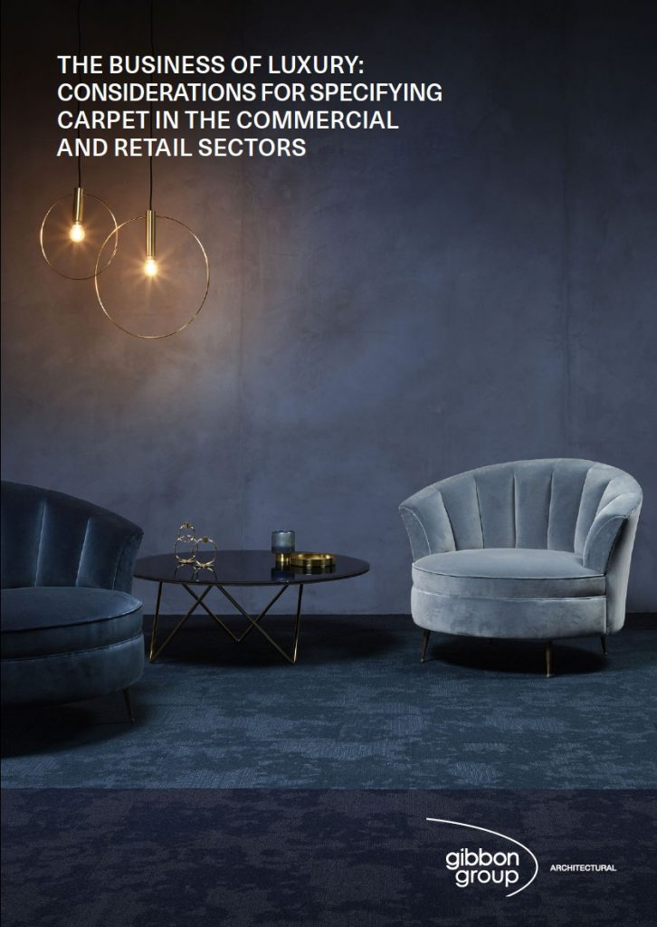 Gibbon Group whitepaper: Carpets in commercial sectors