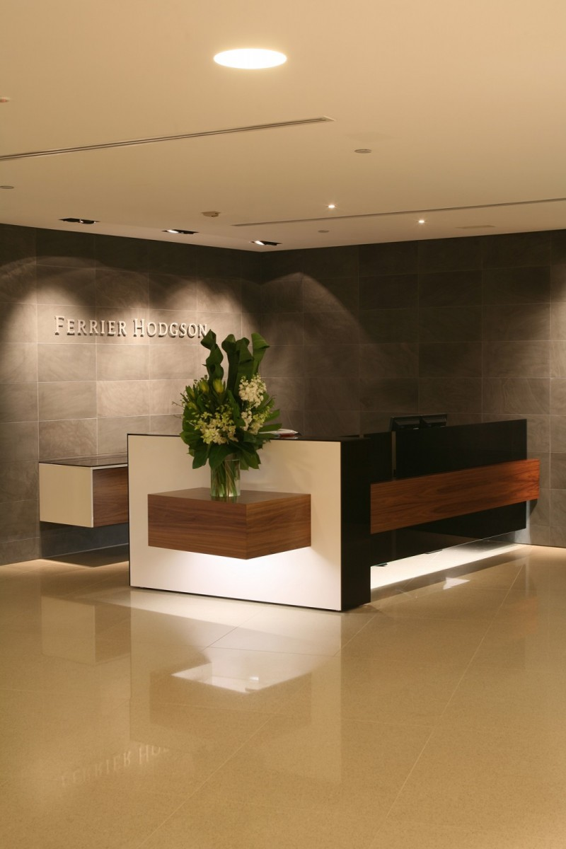 Ferrier Hodgson's new workplace at Grosvenor Place
