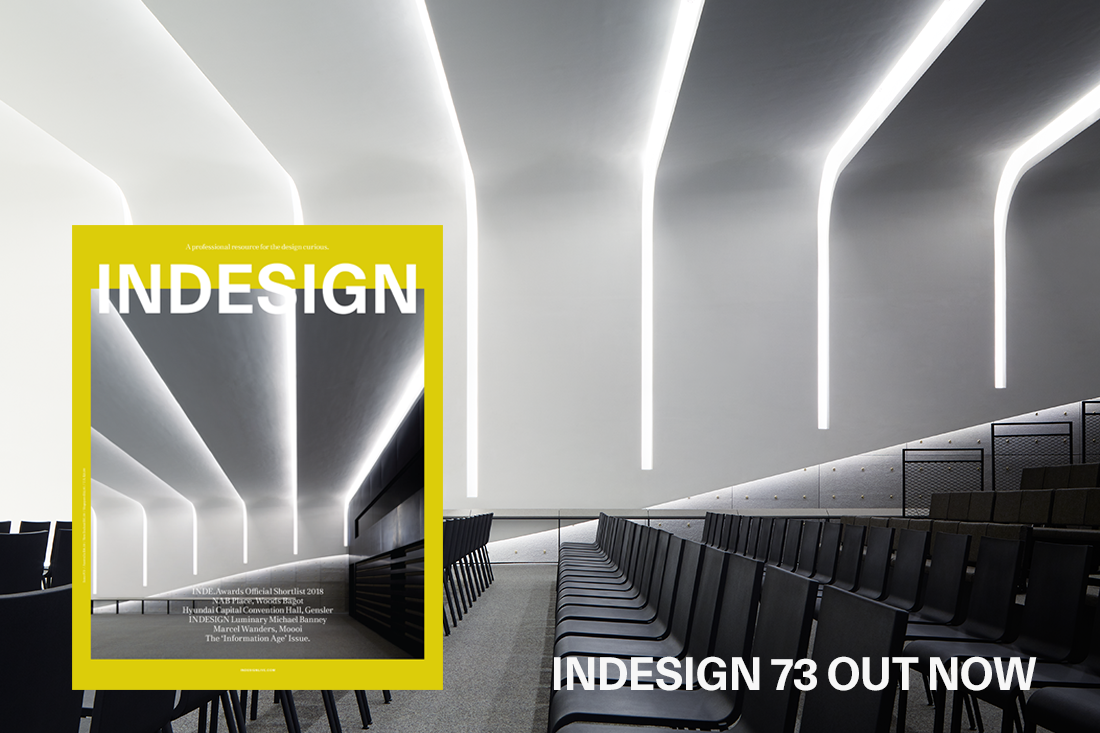 Hot off the press! Indesign magazine's the 'Information Age' issue is out now