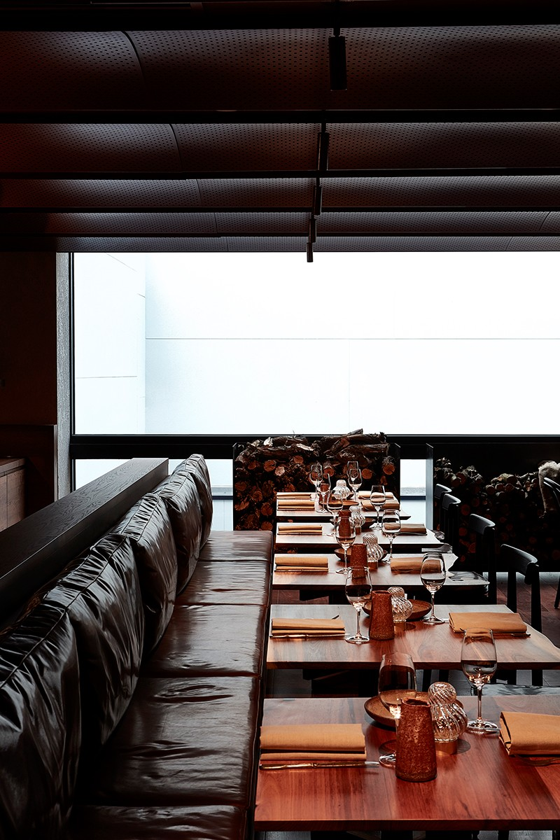 Matilda restaurant at United Places, designed by Projects of Imagination. Photo by Tim Grey.