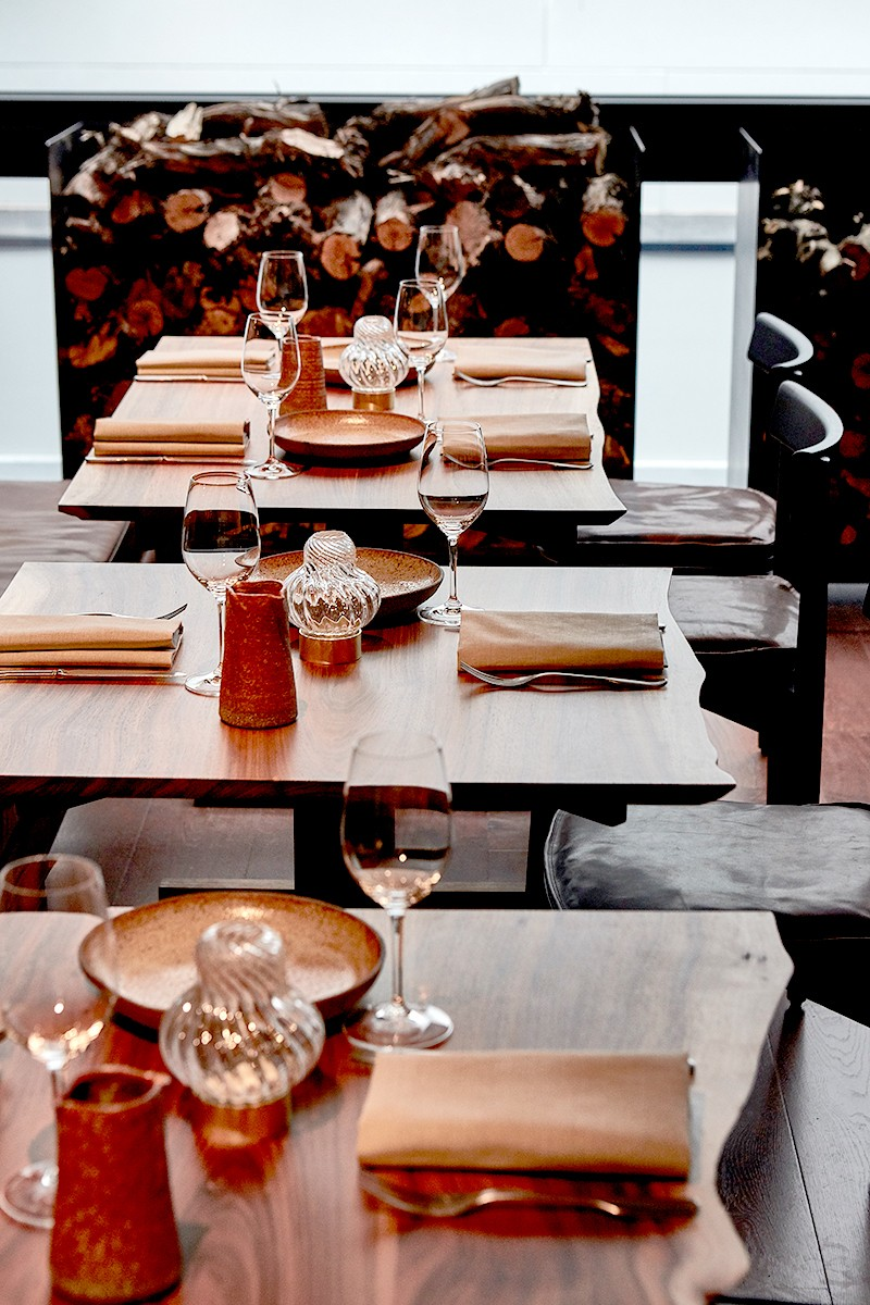 Matilda has been designed with attention to detail, including a careful selection of tableware.