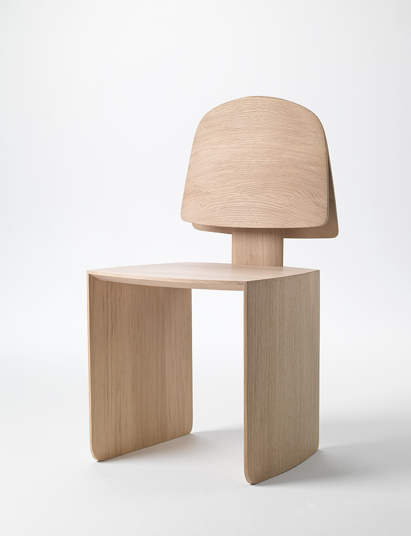 Bell Chair, part of the furniture commission for Indigo Slam.