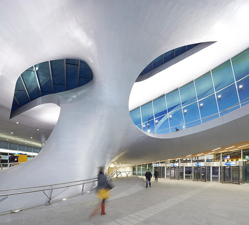 Arnhem Station, by UNStudio. Photo by Hufton Crow.