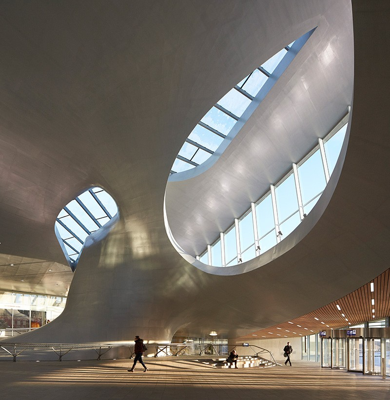 Arnhem Station by UNStudio. Photo by Hufton Crow.