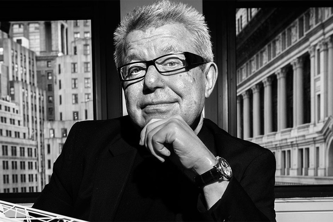 """""""It is a mystery to me. It is a wonder"""": In Conversation with Daniel Libeskind"""