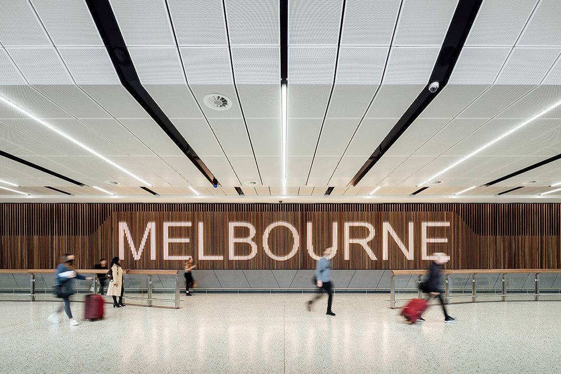There's no place like home: T2 Arrivals Hall by Grimshaw