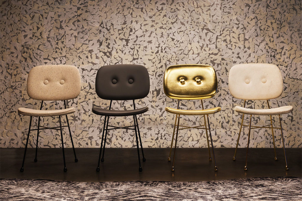 The Golden Chair, designed by Nika Zupac for Moooi. Photo by Andrew Meredith.