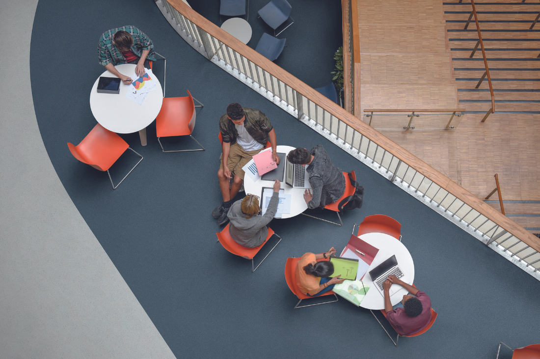 Don't underestimate the design potential of durable flooring