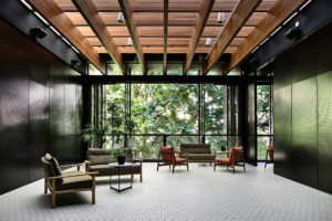 Private Women's Club by Kerstin Thomson Architects. Photo by Derek Swalwell.