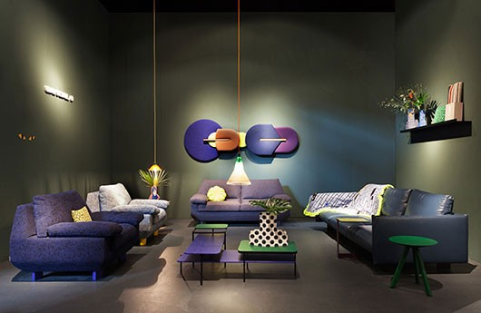 Sancal's stand was inspired by a jungle.